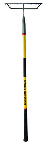 Stanley Garden BDS7136T FATMAX Fiberglass Handle Bow Rake, Yellow/Black ()