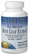 Planetary Herbals Full Spectrum Olive Leaf Extract Tablets, 30 ()