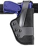 (Uncle Mike's Kodra Nylon Standard Dual Retention Duty Jacket Holster (25, Right Hand) )