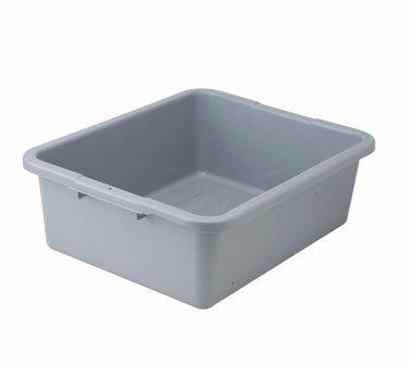 """Winco PLW-7G Dish Box, 20.75"""" x 16.75"""" x 7"""", one compartment"""