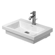 50 Cm Basin (Duravit 7905000001 2nd Floor Handrinse Basin 50 Cm, 1 Hole Tapping, White)