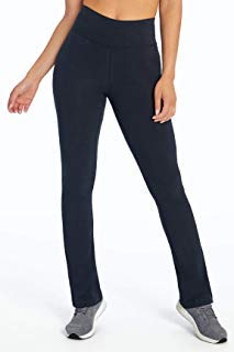 Bally Total Fitness Womens Tummy Control Pant_Short 29'', Black, Large (Bally Total Fitness Door Knob Exerciser Instructions)