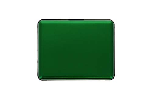 Stockholm Big Aluminium Portefeuille green Ögon Vert Bs Wallet Anodisé xS1anP