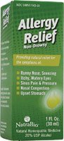 Allergy Relief #543 Natra-Bio 1 oz Liquid