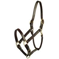 GATSBY LEATHER COMPANY 201-5 Halter Classic Adjustable ()