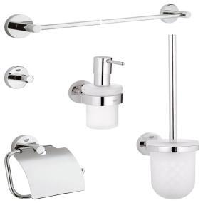 Grohe basic set de accesorios ref 40439000 for Accesorios bano amazon