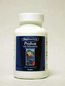 Allergie Research Group - Prolive W / antioxydants patte 90