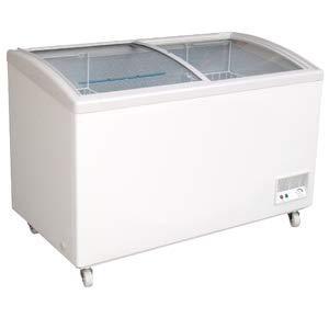 El congelador se puede cerrar con tapa corredera de cristal, tapa ...