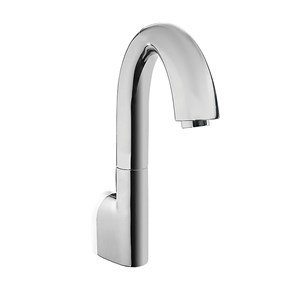 Toto TELS161#CP Gooseneck Bathroom Faucet Polished - Ecopower Lavatory Electronic Faucet