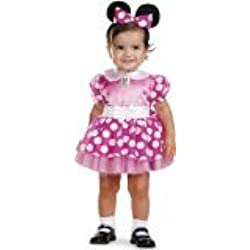 Minnie Mouse Clubhouse - Pink Minnie Mouse Infant Costume 12-18 Months