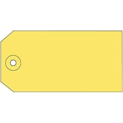 1000 //Box Plain Shipping Tag Yellow 2 Boxes