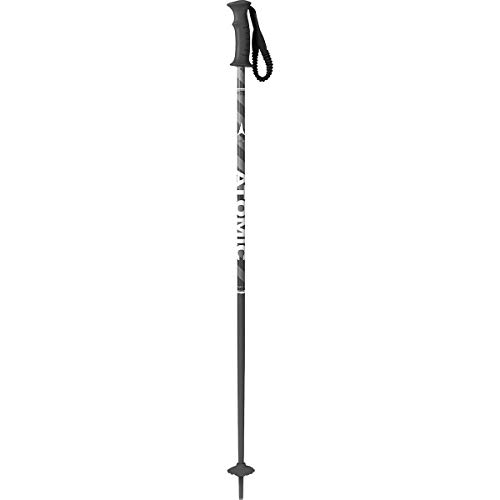 - Atomic AMT Ski Poles - Boys' Black/Grey, 95cm