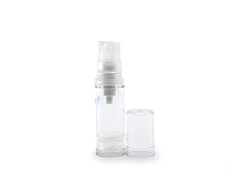 832e9c0bba32 Galleon - 10ML Empty Transparent Refillable Airless Vacuum Pump Vial ...