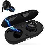 Bluetooth Headphones,True Wireless Earbuds Sports Earphones Easy-Pair Sports Sweatproof Mini Bluetooth Headphones Charging Box Gym Running Workout