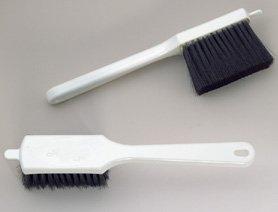 Egg Wash/Icing Brush,11-1/4'' Long, 4'' Brush Head, Black Boars Hair