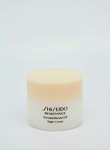 Shiseido Benefiance WrinkleResist24 Night Cream Travel Size 30ml/1oz 2pc ()
