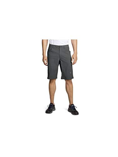 Eddie Bauer Men's Guide Pro Shorts Tall, Dk Smoke Tall 34
