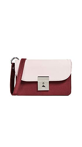 Behno Women's Amanda Belt Bag, Red/Pink, One Size