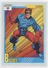Bucky Barnes Bucky Barnes (Trading Card) 1991 Impel Marvel Universe Series 2 - [Base] #140 -  Impel Marketing, Inc.