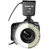 (Aputure Amaran Halo AHL-HN100 LED Ring Flash Light for Nikon DSLR Camera)