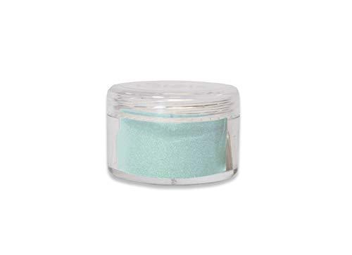 Sizzix 663732 Making Essential Opaque Mint Julep 12g Embossing Powder, - Powder Embossing Mint
