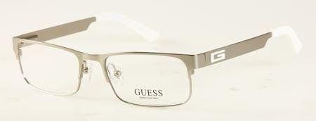 Guess GU 1731 SI Silver 53mm - Guess Prescription Glasses