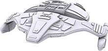 Star Trek Attack Wing - Deep Cuts Jem'Hadar Attack Ship Unpainted Miniature