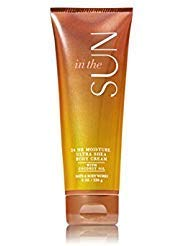 Bath and Body Works In the Sun Ultra Shea Body Cream with Coconut Oil with 24 Hour Moisture Full 8 Ounce Size by Bath & Body Works