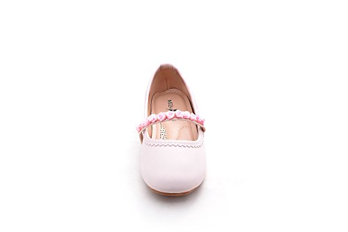 Mila Filles Casual Slip Sur Ballerine Chaussures Plates (candy-1) Rose