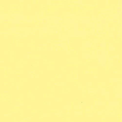 Leda 100% Cotton Solid Shirt Craft and Art Fabric (Pure Yellow)
