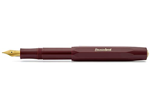Kaweco Classic Sport Fountain Pen Bordeaux M 0 9 mm