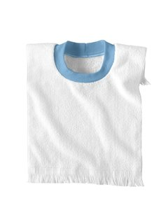 (Infant Pullover Terry Bib by Rabbit Skins - Blue - Not Applicable )