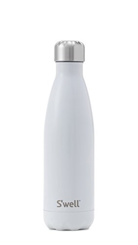 S'well Vacuum Insulated Stainless Steel Water Bottle, 17 oz, Angel Food - Food Bottle