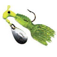 Crappie Thunder 1/16oz Chartreuse/Chartreuse Sparkle