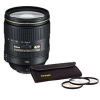 Nikon Nikkor 24-120mm f/4G ED-IF AF-S VR II Lens Bundle. USA. Value Kit with Acc by Nikon