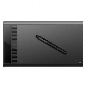 Graphics Tablet M708 Drawing Pad Tablet 8 ExpressKey 10 x 6 Inches Graphics Drawing Pen Tablet M708 - Black