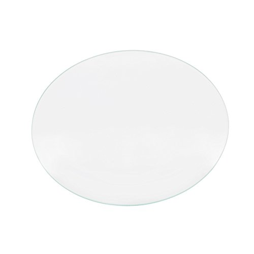 Iverntech Round Borosilicate Glass Plate for RepRap Delta Kossel 3D Printers Circular Heatbed Print Surface 240mm x 3mm by Iverntech
