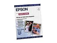 NEW - Premium Photo Paper, 68 lbs., Semi-Gloss, 13 x 19, 20 Sheets/Pack - S041327