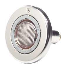 Sta-Rite 05607-2100 SunLite Brass LTC Pool and Spa Light, 120 Volt, 100 Foot Cord, 250 Watt