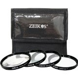 Zeikos ZE-CU477 Closeup Filter Set 77MM, 4-Piece