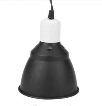 Arichtop E27 UVA//UVB Reptile Bulb Holder Chickens Pet Brooder Amphibian Dome Heating Lamp Bulb Lampshade UK Plug//220V