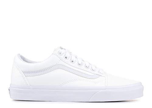 Vans Unisex Old Skool True White Sneaker - 4 ()