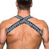 Marco Marco Logo Print Elastic Chest Strap Harness