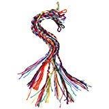 Tinksky Handmade Braided Thread Friendship Bracelets Wrist Ankle BraceletsPack of 9 Random Color