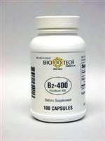 Bio-Tech - La vitamine B-2 400 mg 100 gélules