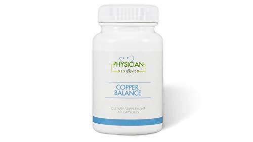 Copper Balance | Fibromyalgia and Heavy Metal Toxicity Support | 60 Capsules | Optimize Metallothionein Function, Nerve Pain, Fibromyalgia Fog, Tender Points, and Fibrositis Pain