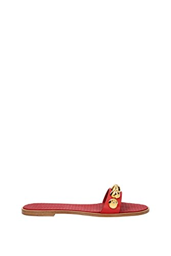 Zapatillas y zuecos Miu Miu Mujer (5XX032) Rojo