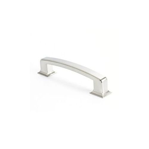 Berenson Hearthstone 6 Center to Center Cabinet Handle Pull Brushed Nickel