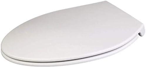 Yxsd キットをフィッティング,長く-V型で抗菌尿素 - ホルムアルデヒド樹脂イージークリーン便座付き便座長くV型トイレのふた (Size : Lengthen-V-type)