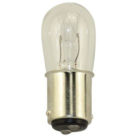 Replacement For 6S6DC-30V 6W 30V MINIATURE BA15D BASE Light Bulb ()
